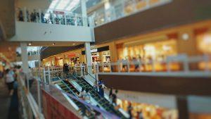 Japanese shopping mall in Toyosu, Tokyo